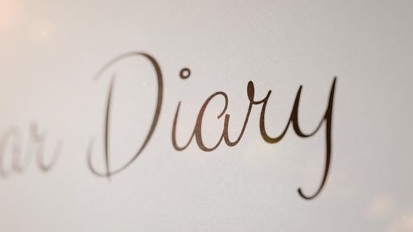 Videohive  Flirt - Animated Handwriting Typeface - After Effects Template