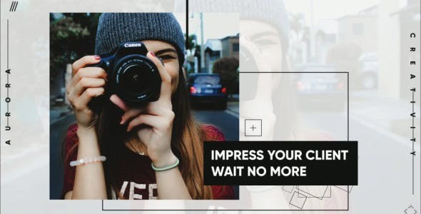 Videohive Minimal Opener - After Effects Template