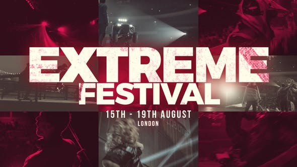 Videohive Extreme Festival - Action Sport Show - After Effects Template
