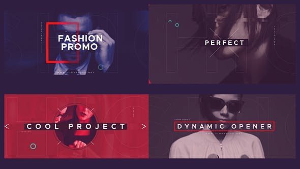 Videohive  Fashion Opener 21218264 - After Effects Template