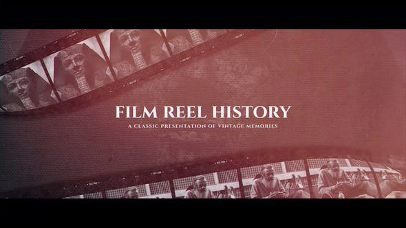 Videohive Film Reel History 23764060 - After Effects Template