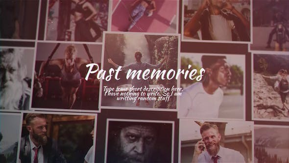 Videohive Past Memories 23766471 - After Effects Template