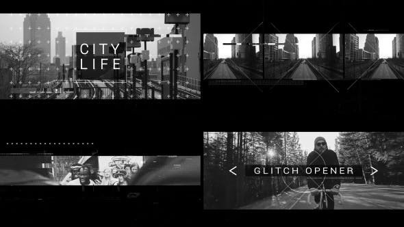 Videohive Glitch Opener 20922358 - After Effects Template
