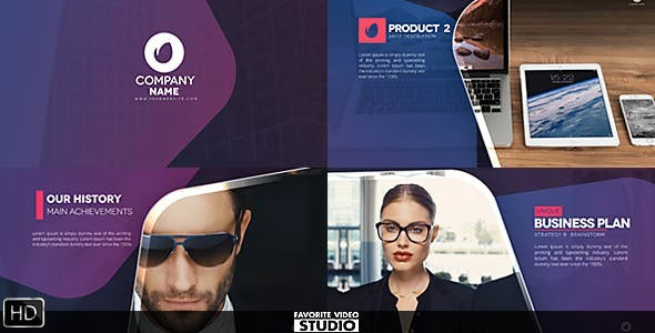 Videohive Favorite Business Typography 18029948  - After Effects Template