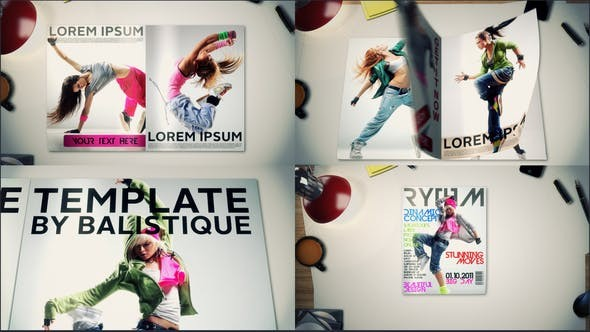 Videohive  Magazine Promo - After Effects Template