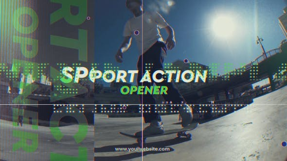 Videohive Sport Action Opener - After Effects Template