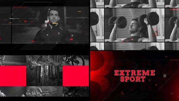Videohive Extreme Sport - After Effects Template