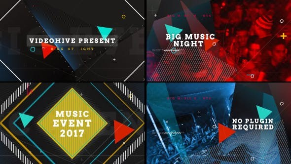 Videohive Music Event  - After Effects Template