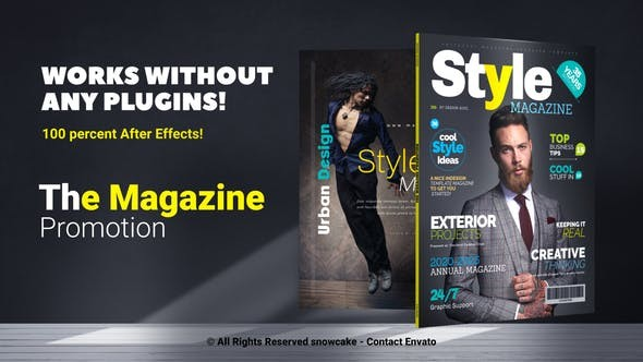 Videohive  The Magazine Promotion - After Effects Template