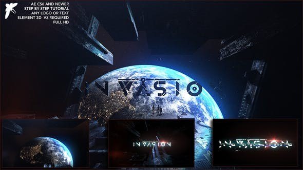 Videohive Epic Space Logo - After Effects Template