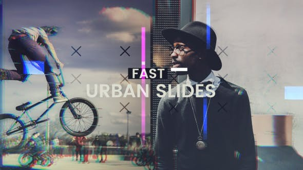 Videohive Fast Urban Slides - After Effects Template