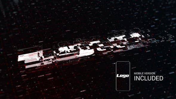 Videohive Digital Logo Reveal - After Effects Template