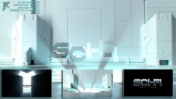 Videohive Sci-fi Logo - After Effects Template