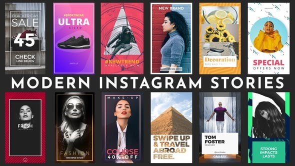 Videohive  Instagram Stories - After Effects Template