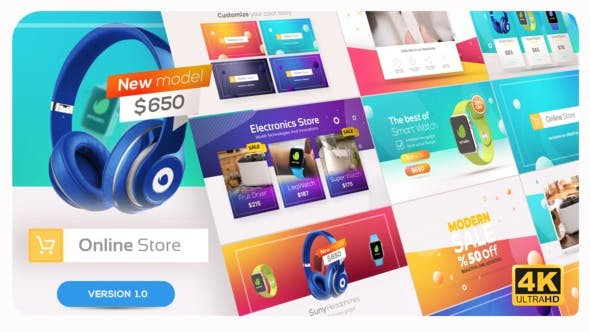 Videohive Online Market | Universal Product Promo - After Effects Template