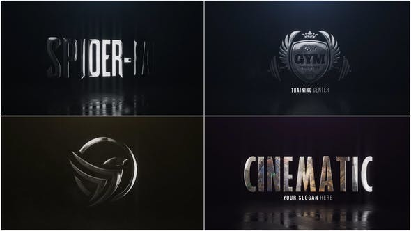 Videohive Cinematic Hero Logo - After Effects Template