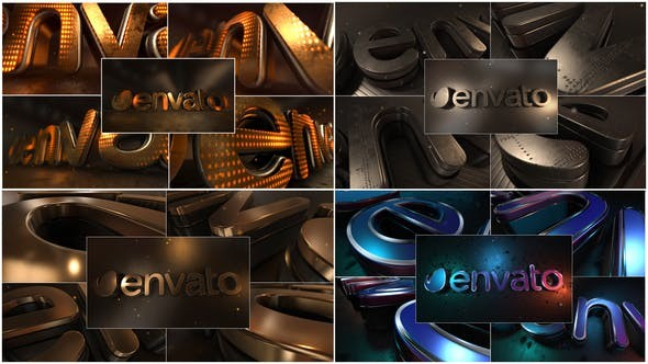 Videohive  LED Gold Title - After Effects Template