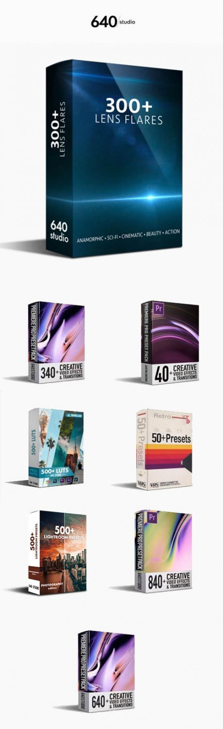 640Studio - All Products Bundle