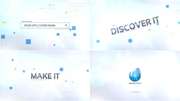 Videohive App Intro Logo 29099012 - After Effects Project Files