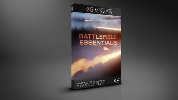 Videohive Trapcode Battlefield Essentials 21724000 - After Effects Project Files