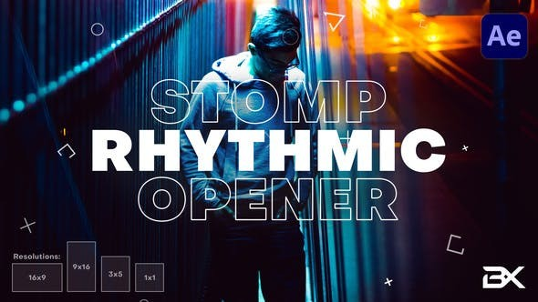 Videohive Rhythmic Opener 28782290 - After Effects Project Files