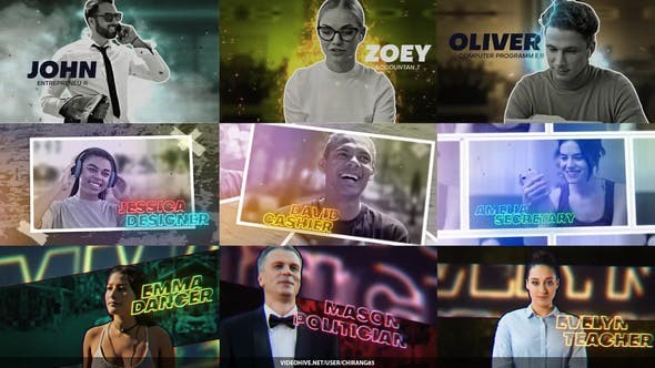 Videohive Modern Freeze Frame Maker 29192346 - After Effects Project Files