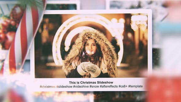 ideohive Christmas Slideshow 29653472 - After Effects Project Files