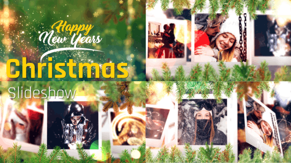 Videohive Christmas Slideshow 29671046 - After Effects Project Files