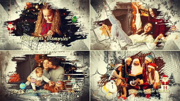 Videohive Christmas Creative Memories 29622697 - After Effects Project Files