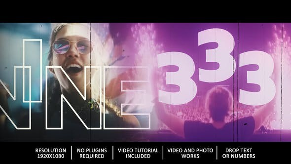 Videohive Countdown Party 29694540 - After Effects Project Files
