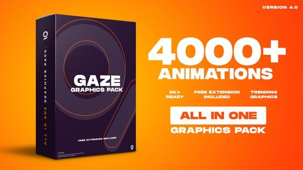 Videohive Graphics Pack | 4000+ Animations 25010010 - After Effects Project Files