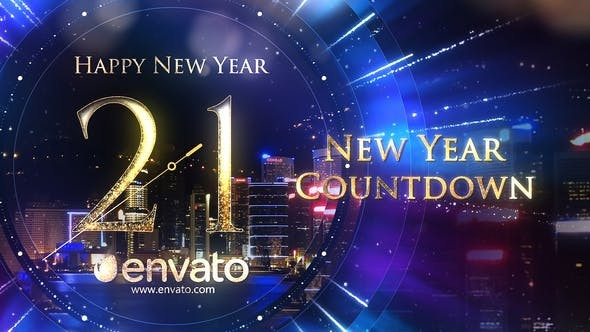 Videohive New Year Countdown 29654005 - After Effects Project Files