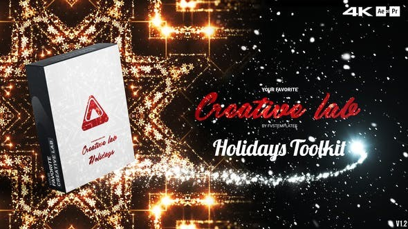 Videohive Creative Lab – Holidays Toolkit v1.4 29707679 - After Effects Project Files