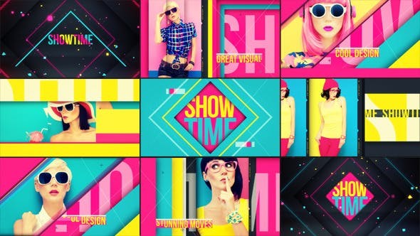 Videohive Showtime 7889950 - After Effects Project Files