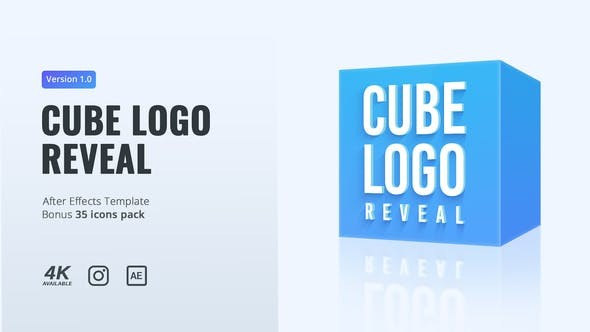 Videohive Cube Logo Reveal 29724058 - After Effects Project Files