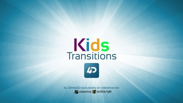 Videohive Kids Transitions 22731090 - After Effects Project Files