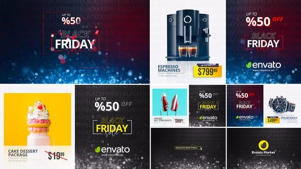 Videohive Black Friday Sale 29313126 - After Effects Project Files