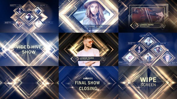 Videohive  AWARDS PACK  29729347 - After Effects Project Files