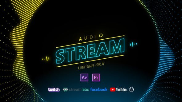 Videohive Stream Audio Pack 28889341 - After Effects Project Files