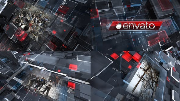 Videohive Political News Promo 29516730 - After Effects Project Files
