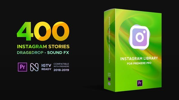 Videohive Instagram Library for Premiere Pro 23068744 - After Effects Project Files