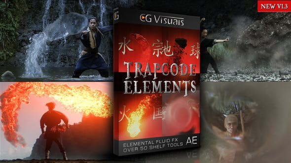 Videohive Trapcode Elements V1.2 21700111 - After Effects Project Files