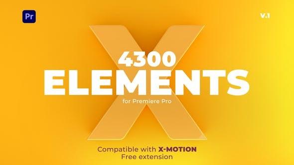 Videohive X-Elements   Premiere Pro 29715440 - Premiere Pro Templates