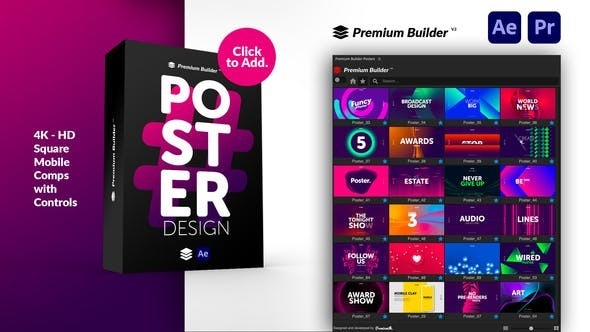 Videohive Posters V.5 30259738 - After Effects Project Files