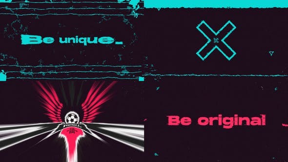 Videohive Fresh Glitch Logo Intro 28715806 - After Effects Project Files