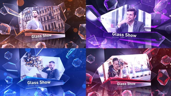 Videohive Glass Show 30248935 - After Effects Project Files