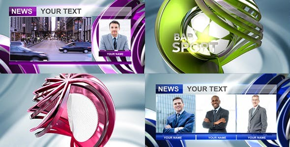 Videohive News Package 19607424 - After Effects Project Files