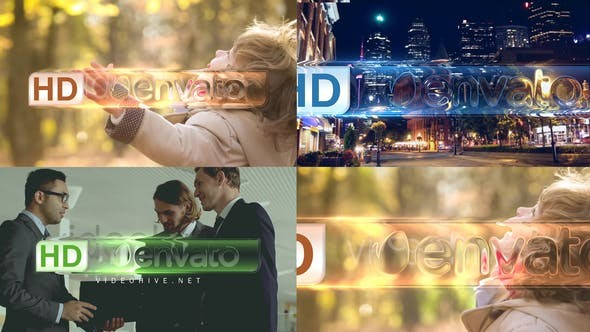 Videohive Glass Effect 21645530 - After Effects Project Files