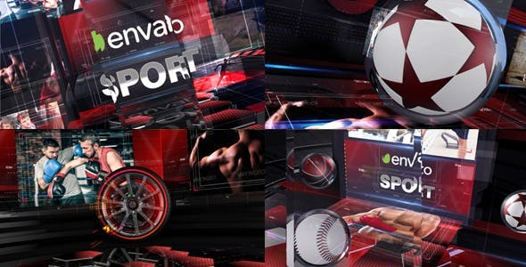 Videohive Sport Action 19449747 - After Effects Project Files