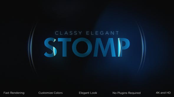 Videohive Classy Elegant Stomp Intro 31013309 - After Effects Project Files